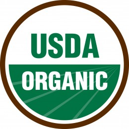 This seal appears on foods that are certified organic by the United States Department of Agriculture.