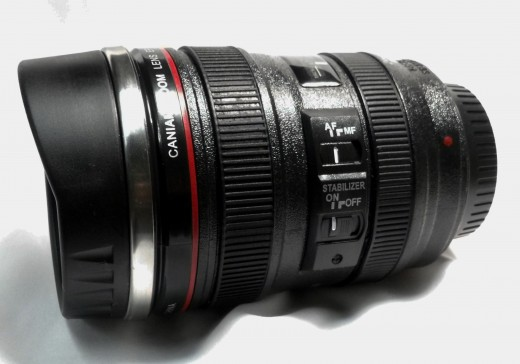 This is the closest I'll get to this lens, but what a fantastic gift for Canon or other camera owners.