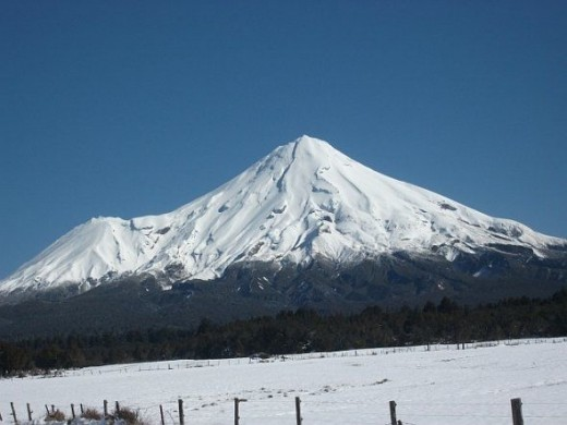 Mount Egmont/Taranaki NZ.