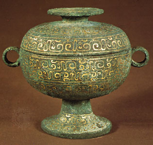 Ceremonial bronze,Zhou Dynasty