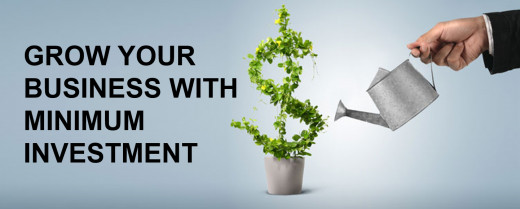 Grow your business with small investment