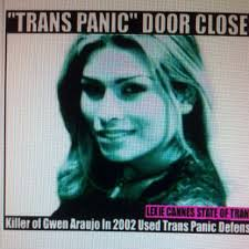 Gwen Araujo, a woman killed by four men who discovered she was transgender.  None of the men were charged with a hate crme.  Pinterest post by Lexie Cannes