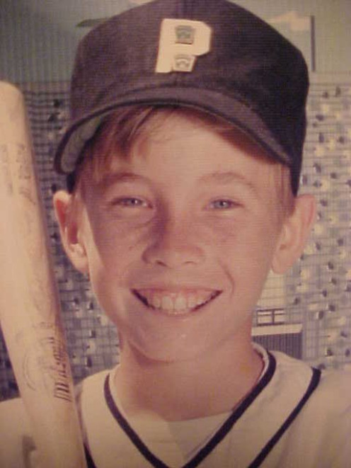 Happy when I had a bat or a ball in my hands at 12... or even a transister radio broadcasting a ballgame.
