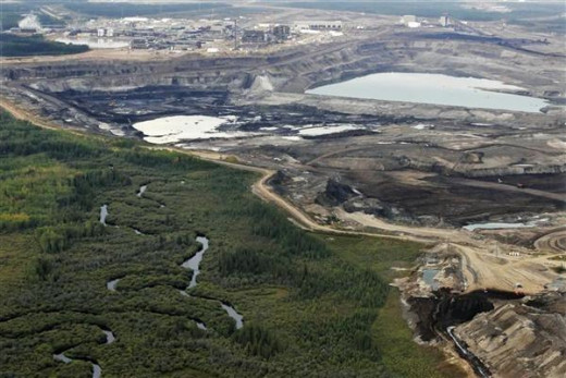 The Tar Sands of Alberta