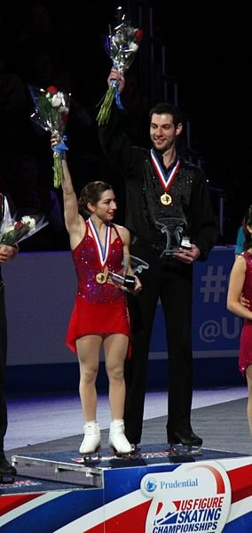 Reigning two-time champions Marissa Castelli & Simon Shnapir - now split and with different partners. No edits were made. No copyright infringement intended. Used via this: https://creativecommons.org/licenses/by-sa/3.0/deed.en