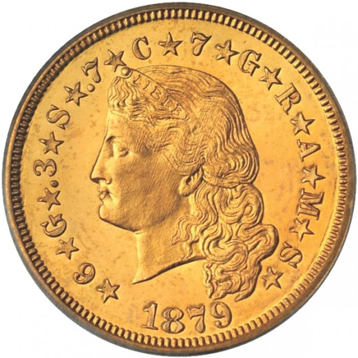 Beautiful gold coin.