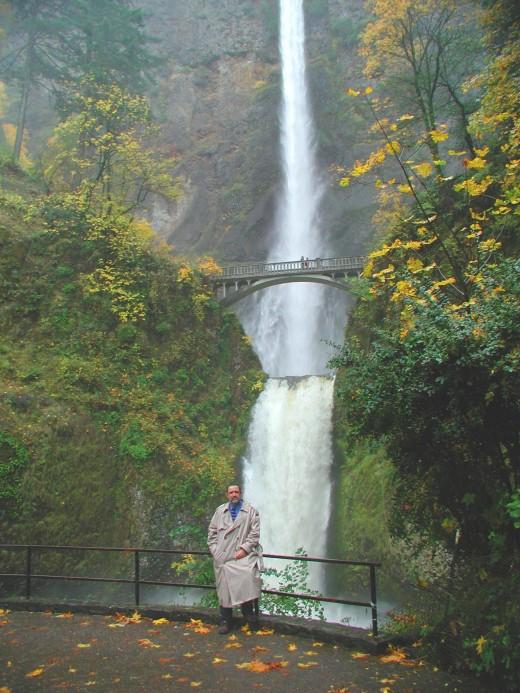 Ronald A Newcomb Multnomah Falls, Portland Oregon