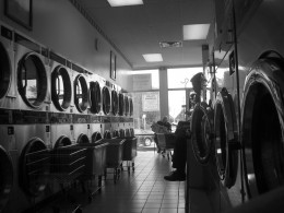 Doing Laundry at the Laundromat