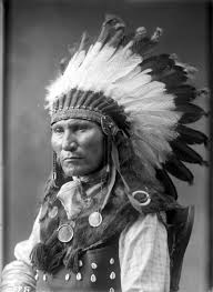 Cochise in full regalia
