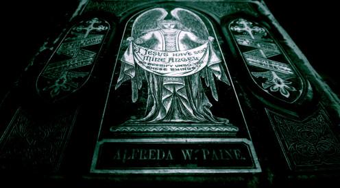 Antique King James Holy Bible