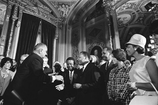 The Civil Rights legislation, brokered in large part by MLK and LBJ, could have been more effective if King started from a more revolutionary vision.