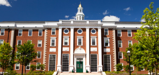 Harvard University. This is the university that almost all serious students in the world want to attend.