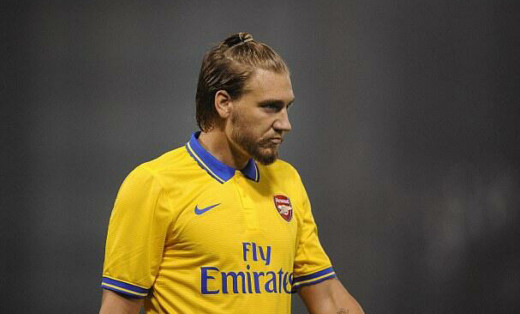 Bendtner didn't quite cut it at Arsenal