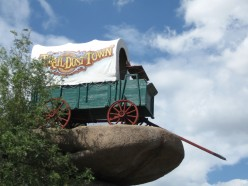 Trail Dust Town - A Movie Set That Became a Theme Park