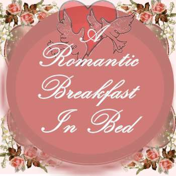A Romantic Valentine Breakfast In Bed Sign