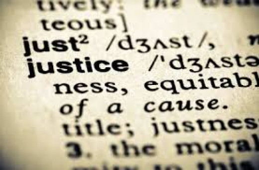 the word justice has often been talked about, but the real meaning and realization of it cannot be fully recognized by many up to now