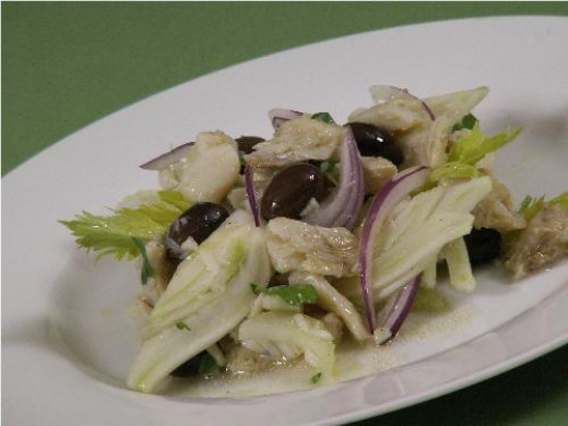 Baccala Salad