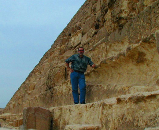Ronald A. Newcomb on the Pyramid of Khufu or the Pyramid of Cheops, The Great Pyramid of Giza
