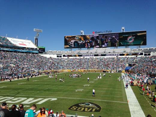 Jaguars Gameday vs Dolphins, October 26, 2014
