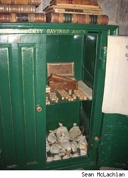 Clay County Museum bank vault