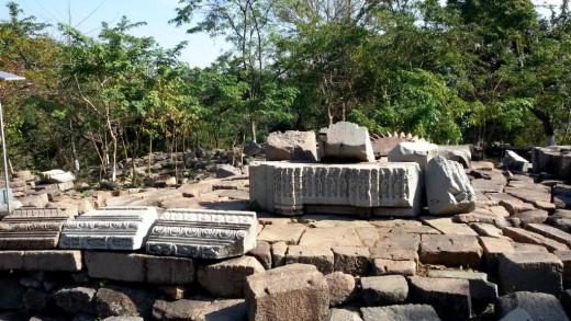 Bamuni Hills ruins 2