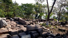 Bamuni Hills ruins 1