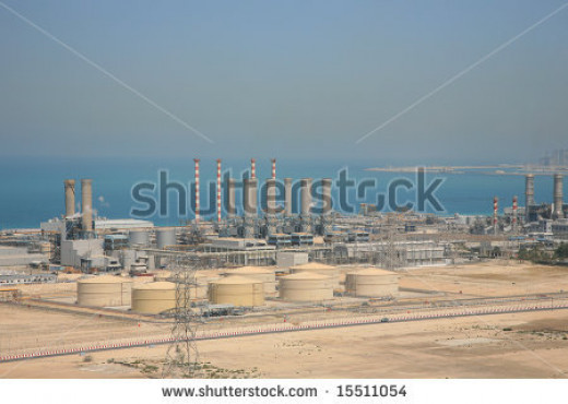 Seawater Desalination Plant, Dubai