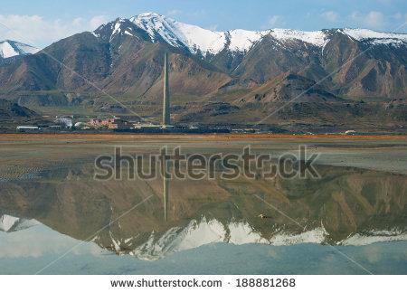 Desalination plant near Salt Lake City, US