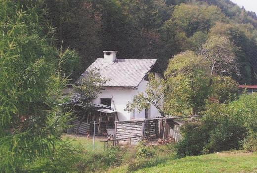 Austria farmhouse on the way to Slovenia