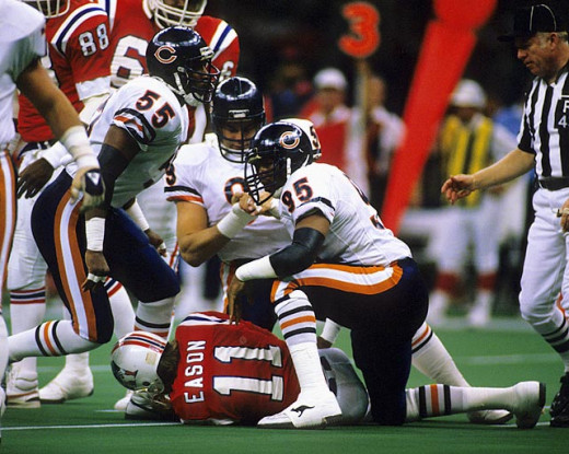 The Patriots first Super Bowl appearance in 1986, where they lost 46-10.
