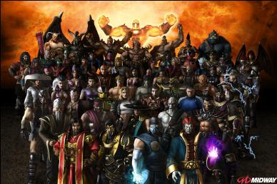 In the previous continuity, this was just a sample of playable characters. Most of them were sequel characters.