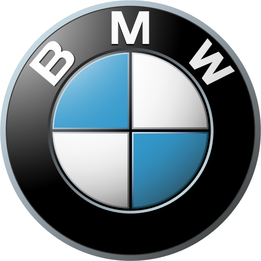 BMW's logo. Fair use as it is for educational purposes.