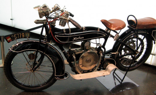 1920 Helios motorcycle with BMW engine