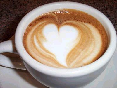 Latte Heart Art