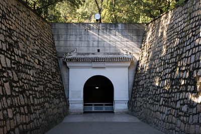 Entrance to Dingling Tomb