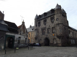 Château in the town of Condé-sur-l'Escaut