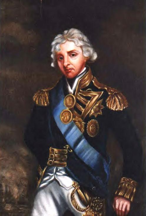 Admiral Horatio Nelson, by John Hoppner