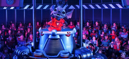 Stitch now causes mayhem for Tomorrowland guests daily, to the dismay of old Alien Encounter fans.