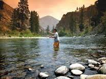 A true pleasure of life is fishing in a river or creek in any given small town