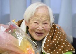Misao Okawa, born March 5, 1898, Osaka, Osaka Prefecture, Japan