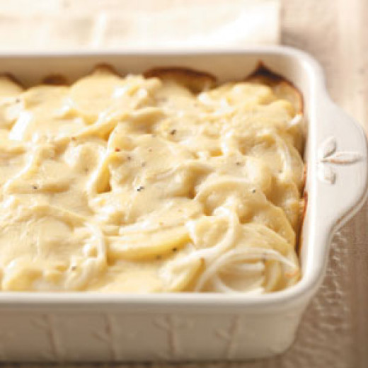Scalloped Potatoes Easy Recipe