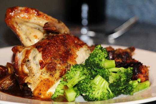 Easy Roast Chicken Recipe