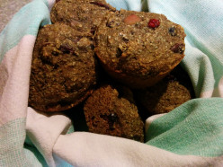Vegan Bran & Fruit Muffins