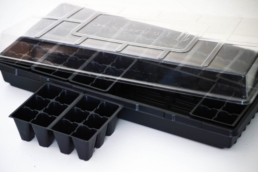 9GreenBox - Seeds Starter Germination Station Complete Kit