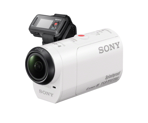 SONY Action Cam.  HDR-AZ1VR/W