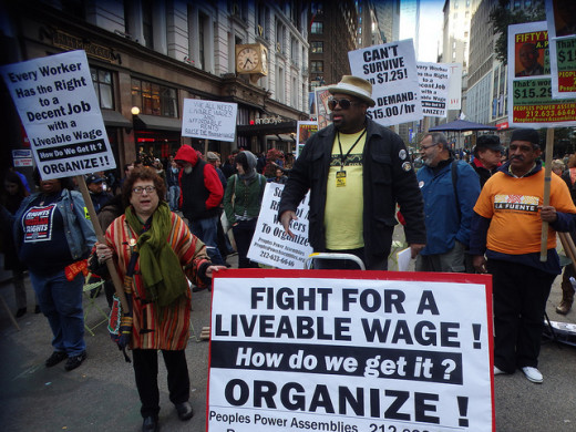 NYC rally to raise minimum wage