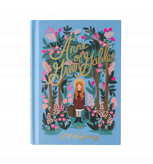 anne of green gables book, Rifle paper co. cover artwork