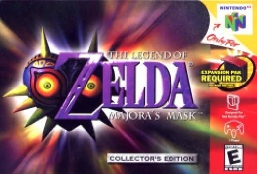 Majora's Mask Box Art
