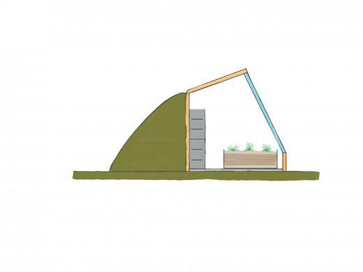 A Passive Solar Greenhouse Design