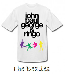 60s Music Band T-Shirts
